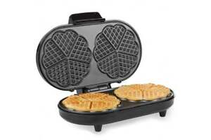 Double Waffle Maker Duel Pancake Making Machine Kitchen Non Stick Fast Cooking