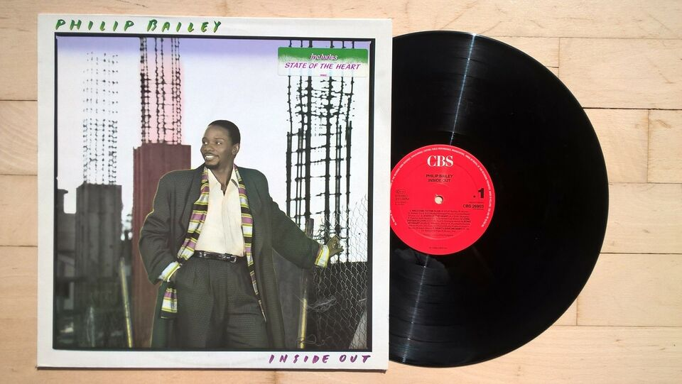 LP, Philip Bailey, Inside Out