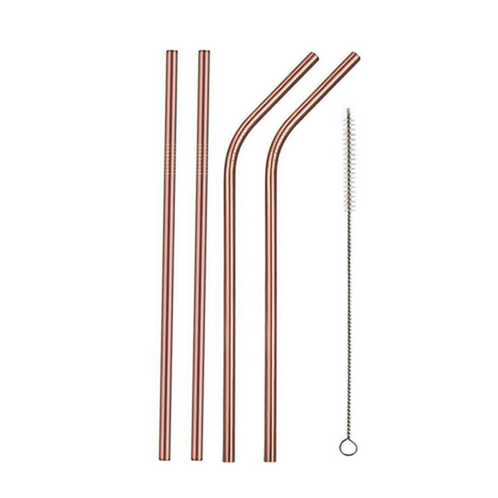 Rose Gold-Bent Straight