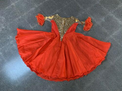 Vintage Circus Performer Dress