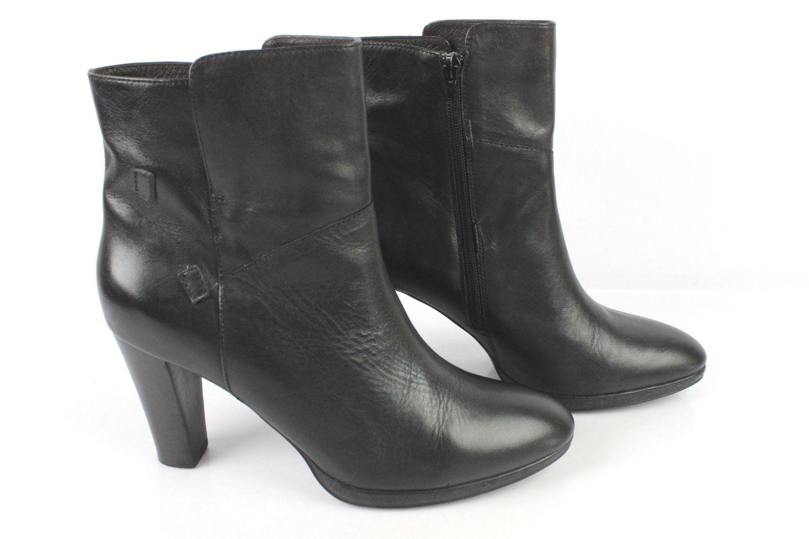 Stiefletten JB MARTIN sehr schwarzes Leder t 40 sehr MARTIN guter Zustand b36483