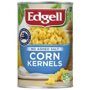 Edgell Corn Kernels No Added Salt 420g