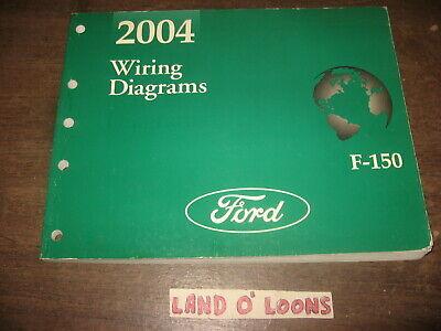 2004 Ford F-150 original Wiring Diagram manual | eBay