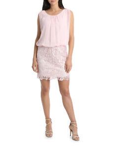 NEW-Wayne-Cooper-Events-Lace-Blouson-Dress-Blush