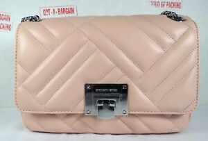 5bc868c04646 Image is loading Michael-Kors-Vivianne-Quilted-Leather-Medium-Shoulder-Flap-