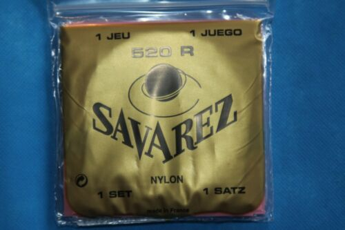 Savarez Red Card Classic High Tension Strings 520R