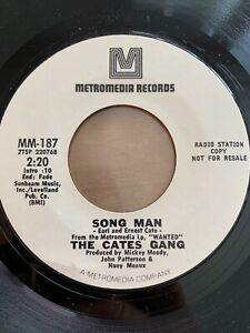 """Cates Gang - We All Got To Help Each Other // 7"""" - US-Pressing 1970 - Promo"""