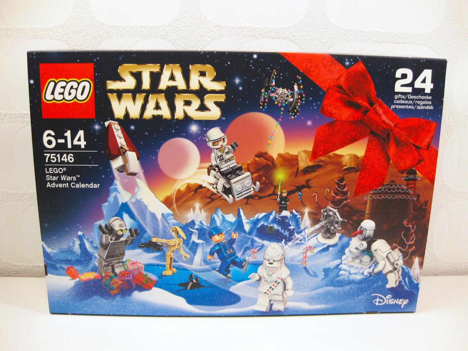 Lego 75146 - Star Wars Adventskalender 2016   Neu + OVP   ungeöffnet