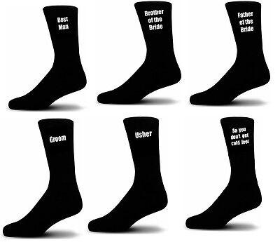 Brillant Black Luxury Cotton Rich Wedding Socks, Groom, Best Man, Usher - Wedding Socks Gesundheit Effektiv StäRken