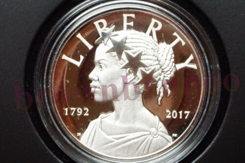 2017 P 225th Anniversary American Liberty Silver Medal Proof 1 oz 17XB