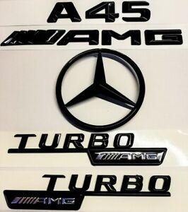 Mercedes Benz CDI Noir Brillant arrière Emblème Badge