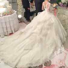 Vestidos De Novia Long Wedding Dress 2017 Long Sleeves Ball Gown Bridal Gowns