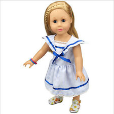 New Princess Dress Party Skirt For 18 inch American Girl Doll Clothes