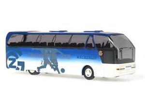 "100% De Qualité Rietze 62080 Wäckerlin Carreisen Ag,zurich Bleu/blanc Teambus "" Grasshopper Cl"