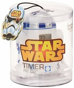 STAR-WARS-TIMER-DIGITAL-R2D2-AUBECQ-NEUF-NEW-NEU