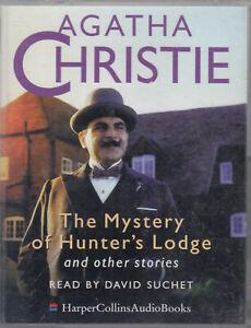 The-Mystery-of-Hunter-039-s-Lodge-Agatha-Christie-2-Cassette-Audio-Book-Poirot