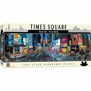 Times Square Panoramic Puzzle (1000pc)