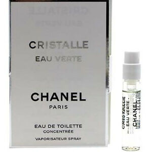 chanel cristalle eau verte 06 oz 2 ml mini vial edt. Black Bedroom Furniture Sets. Home Design Ideas