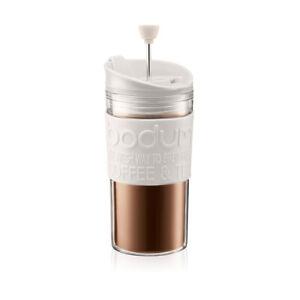Coffee maker Bodum TRAVEL PRESS White 0.35 L
