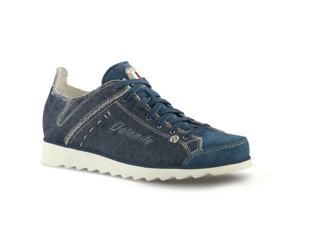 various styles wholesale price new authentic Dolomite Cinquantaquattro 54 Travel Canvas Navy Hemp Shoes Casual