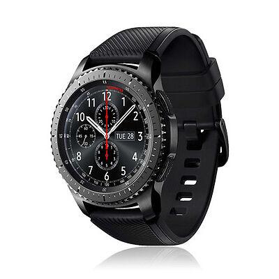 Samsung Gear S3 Frontier Edelstahl SM-R760, SmartWatch FitnessTracker Sportuhr