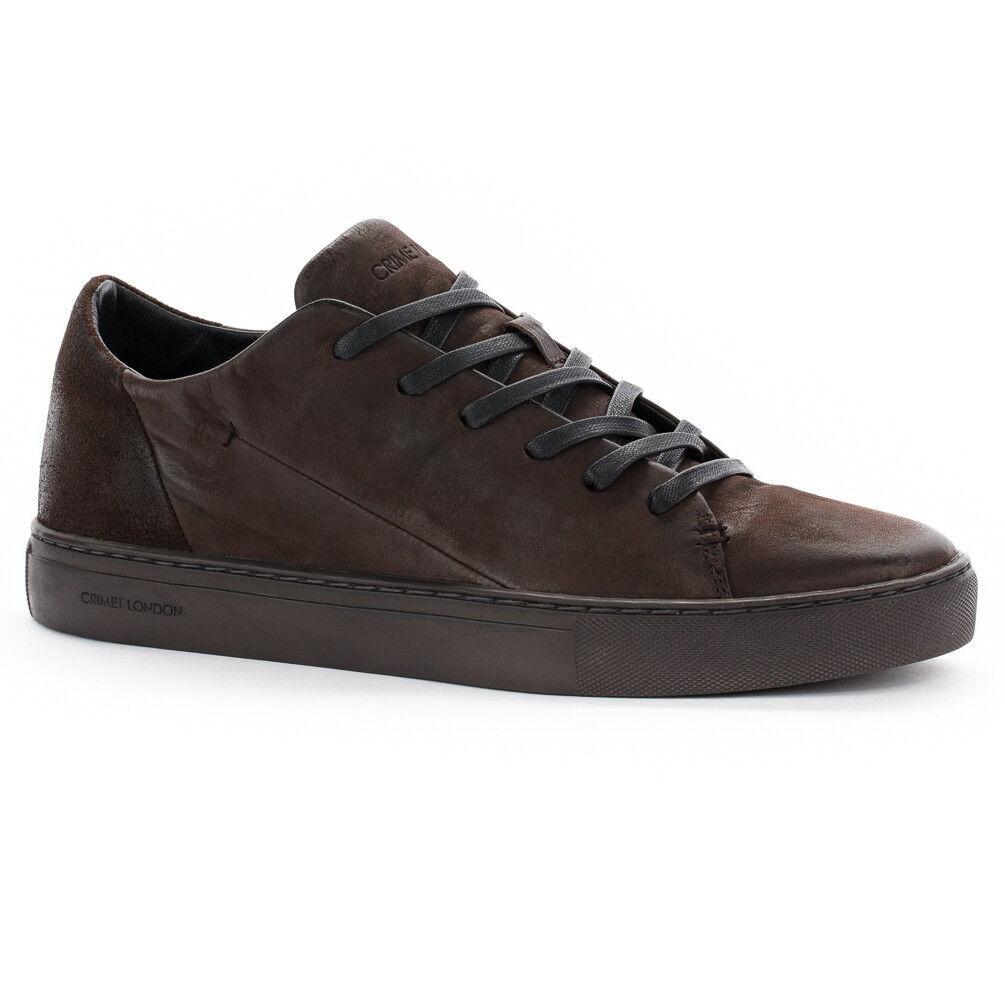 CRIME LONDON scarpa uomo moro lacci con lacci moro 100% pelle AMUSE 11350AA1.60 36ce7d