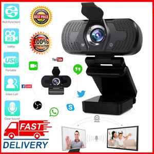 Webcam USB PC Camera Full HD 1080P Web Cam Con Microfono Per Computer Desktop