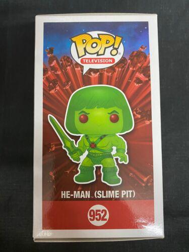 He-man Slime pit #952 Funko pop vinyl ECCC 2020 RARE INHAND