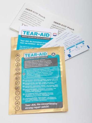Plastik Neuware! Tear Aid Reparaturflicken Gummi Reparatur von Kunststoff