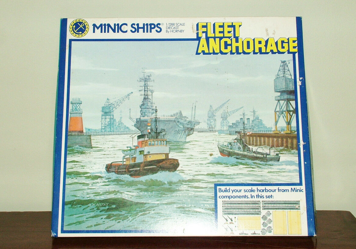 Triang Minic Ships M904 Fleet Anchorage Set - Still Sealed
