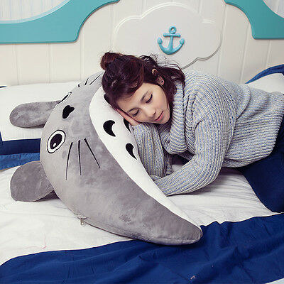 "Hayao Miyazaki animation My Neighbor TOTORO plush Toy doll pillow Cushion 24"""