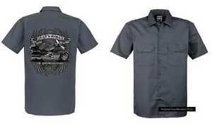 Maglietta-Worker-GRIGIO-CON-UN-GOLDWING-motivo-modello-Lets-ROTOLO