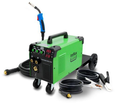 MIG-Schweißgerät Halbautomatischer Wechselrichter 200A IGBT Gasloser FLUX MMA
