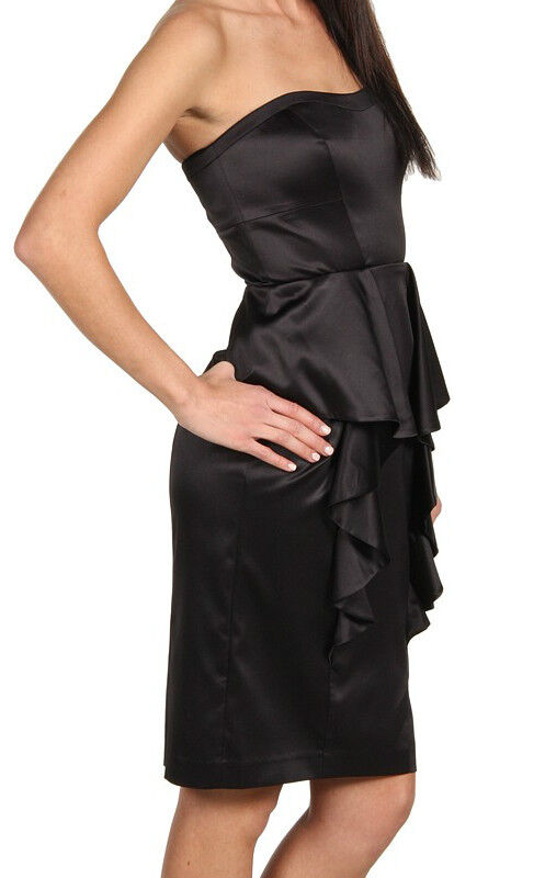 Jessica Simpson Elegant Cascading Ruffle Dress - Wear 2 Ways () - Size 6 NWT