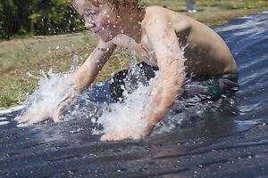 Schwerlast Plane Slip N Rutsche Wasser Rutsch Und Rutsche Garten