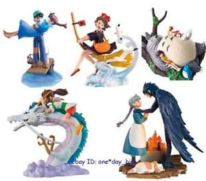 Hayao-Miyazaki-STUDIO-GHIBLI-COLLECTION-Scene-Figurine-Lot-of-5-Collectibles-Toy