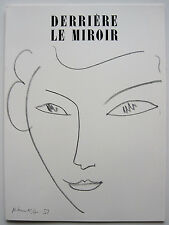 "HENRI MATISSE: WEIBLICHE AKTE 1952 ""DERRIÈRE LE MIROIR"" 46 KOMPLETT DLM MAEGHT"
