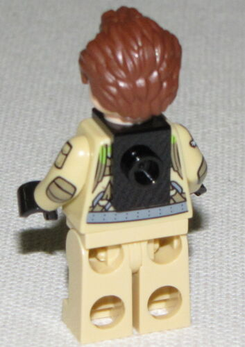 Lego New Ghost Busters Dr Peter Venkman Minifigure From Set 75827 Firehouse
