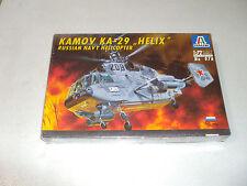 ITALERI KAMOV KA-29 HELIX RUSSIAN NAVY HELICOPTER IN 1/72 SCALE
