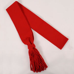 BRITISH ARMY RED SASH SHOULDER WOOL SASHES SEARGENT NCO GUARDS DRILL BRAND NEW