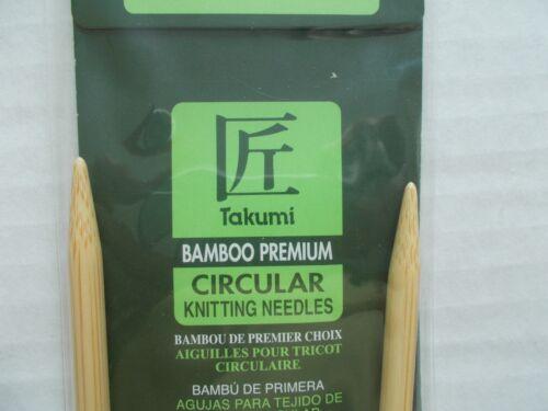 Clover Bamboo Circular Knitting needles,Japan size 10.5