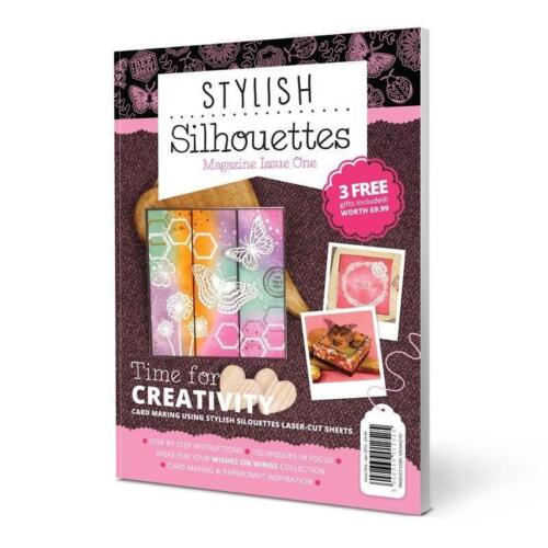 HUNKYDORY ~ Stylish Silhouettes Laser Cut for Crafters Magazine SSILMAG101