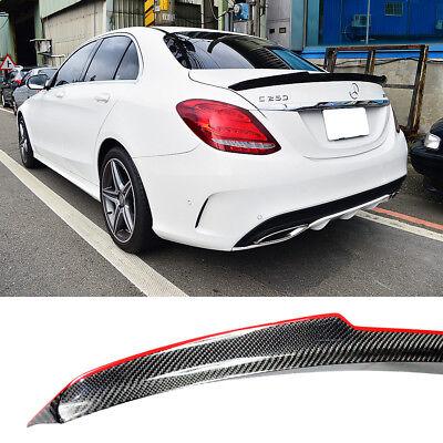 W205 Sedan OE Roof /& AMG Type Boot Trunk Spoiler C200 Painted Mercedes-BENZ 15