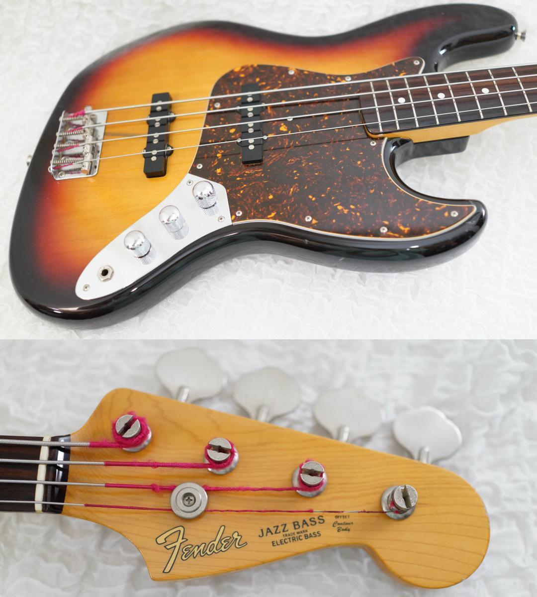 Fender Japan JB62-66US 3TS JAZZ BASS 2007-2010 beautiful rare EMS F S