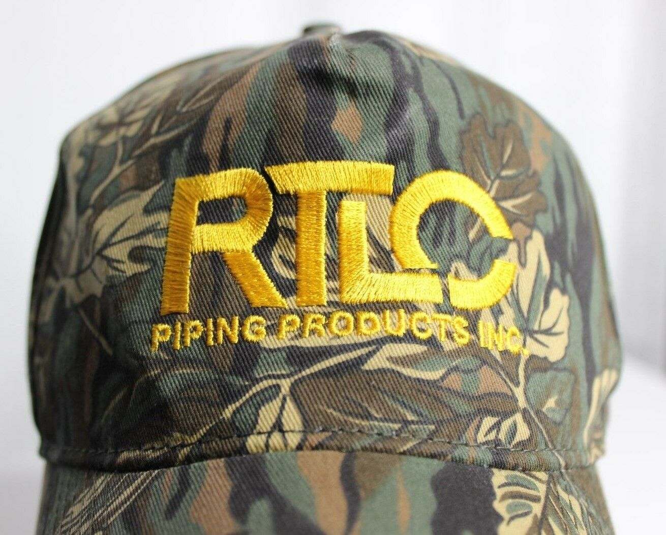 RTLC Back Piping Products Texas Oil Business Snap Back RTLC Curved Lid Camouflage Hat e5a8dd