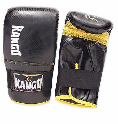 Kango Boxing Gloves Punching Bag Mitts Mma Muay Thai Kick Boxing 2019 Nuevo Estilo De Moda En LíNea