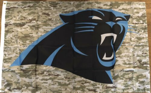 Carolina Panthers Camo Flag 3x5 Digital Camo Banner Man Cave Football