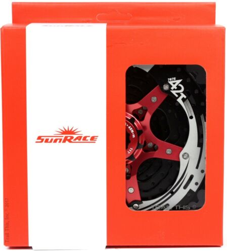 Sunrace CSMX3 11-40 or 11-42 10-Speed MTB Cassette Black fits Shimano SRAM 1x10