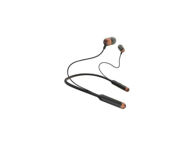 House Of Marley Smile Jamaica Wireless Neckband Bluetooth Headphones with Mic, S