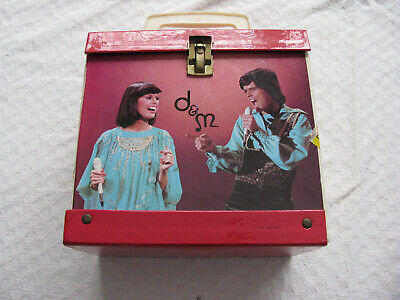 Music 7109 45 Storage Box Osbro Donnie & Marie Peerless Vidtronic Corp No